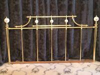 Solid Brass Headboard