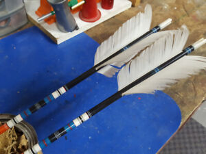 Custom Built Traditional Arrows