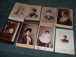 1800s cabinet cards London Ontario image 8