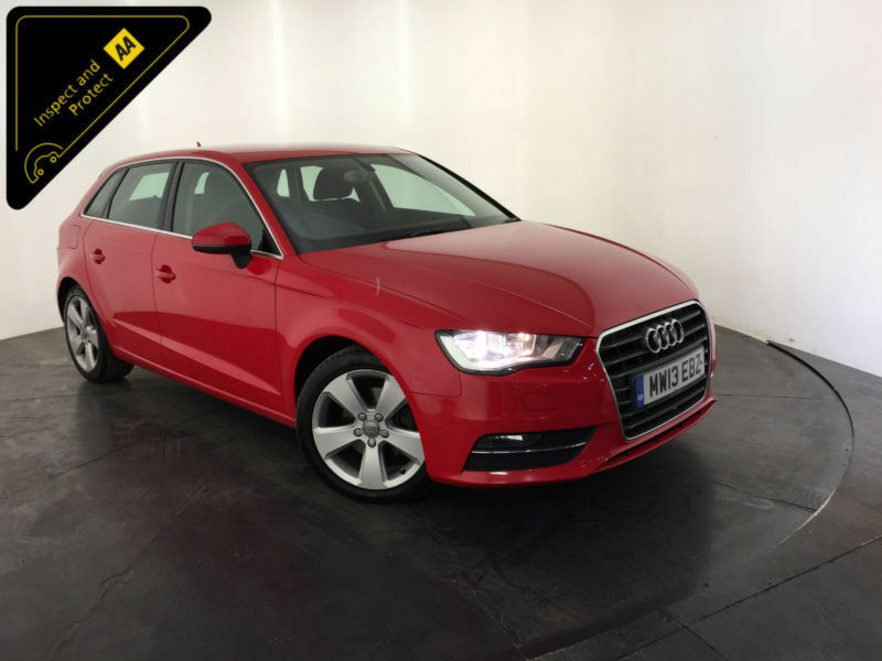 2013 AUDI A3 SPORT TDI 148 BHP 1 OWNER AUDI SERVICE HISTORY FINANCE PX WELCOME