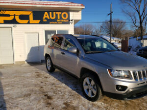 2017 JEEP COMPASS SPORT/NORTH EDITION!LEATHER HEATED SEATS