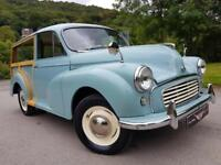 1963 MORRIS MINOR 1000, excellent condition, looks and drives superb.