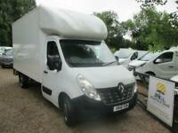 2016 RENAULT MASTER LL35dCi 125 Business Low Roof LUTON WITH TAILIFT NO VAT 122K