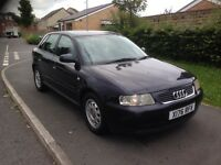 AUDI A3 1.9 TDI 110BHP 5 DOOR DRIVES GREAT