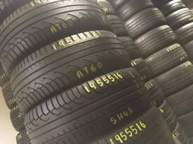 205/55R16 195/55R16 215/60R16 NEW TYRES & USED PART WORN TYRES . TYRE SHOP . TIRES FITTED