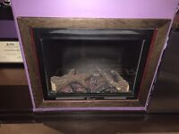 Napoleon Decorative Electric fireplace (2 available)