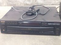TEAC receiver and CD player.