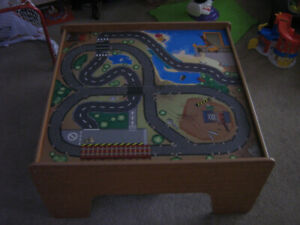 Play Table, Road and Train table Imaginarium express