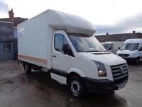 VOLKSWAGEN CRAFTER 2.5 BlueTDi | LUTON | LWB | 1 OWNER FROM NEW | NO VAT | 2010