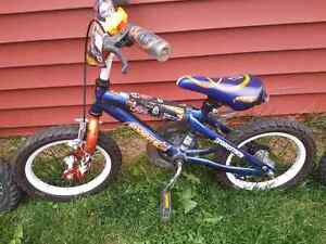Kids bikes hot wheels and police bike