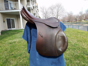 """Horse Tack:17"""" Passier PS-Baum Brown All Purpose Saddle For Sale"""
