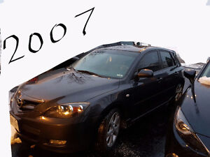 2007 Mazda Mazda3 Sport hatchback 2.3L Hatchback Cambridge Kitchener Area image 1