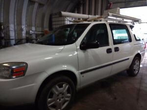 2008 Chevrolet Uplander Minivan. AS is OR Safety&Emission