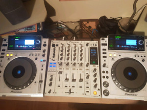 Pioneer cdj-2000 limited edition et djm-850 limited edition
