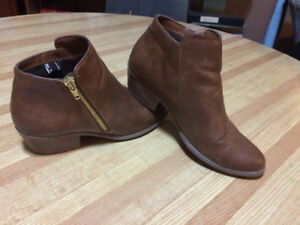 Tan bootie by American Eagle.  $15.00