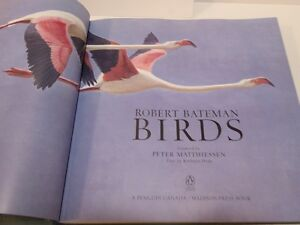 "COFFEE TABLE BOOK ""BIRDS"" BY CANADIAN ARTIST ROBERT BATEMAN"