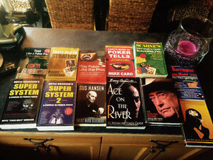 Poker books lot