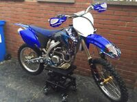 Yzf 250 2009 motocross bike not Sxf Crf Kxf Rmz 450
