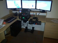 Saitek complete flight simulator, simulateur de vol complet !!