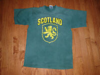 SCOTLAND T Shirt size small