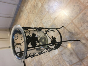 Large party lite candle holder