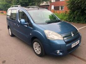 Citroen Berlingo 1.6i 16v 110hp Multispace VTR CAM BELT AT 44 K. LOW MILEAGE 61K