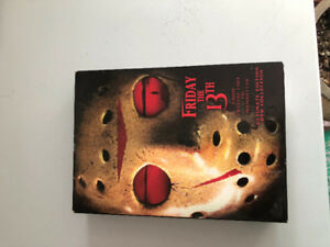 "Horror movie ""Friday the 13th"" ultimate collection."