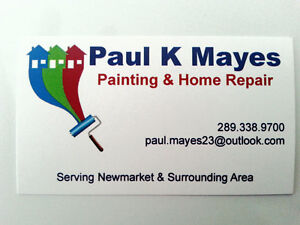 Painting and Home Repair * 100% FREE QUOTES * Newmarket Area