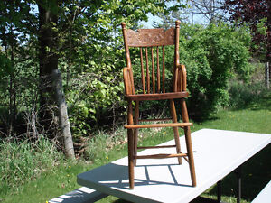 childs antique high chair