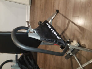 Inversion table life-fitness