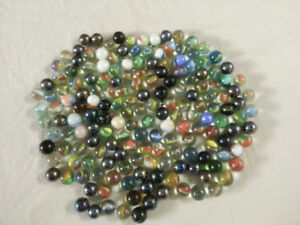 Decorative Rocks, Large and Small Marbles, Small Rake, Coasters