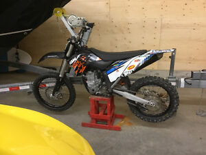 Really good condition KTM SX-F 450 MOTOCROSS
