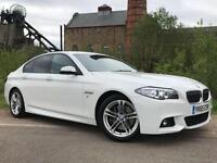 2015 65 BMW 5 SERIES 3.0 535D M SPORT 4D AUTO 309 BHP DIESEL