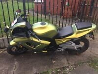 Bargain Wk bikes sport GP 125 2012 bike