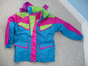 Gently Used Girl's Windbreaker With Zip-out Liner - Size 12 London Ontario image 1