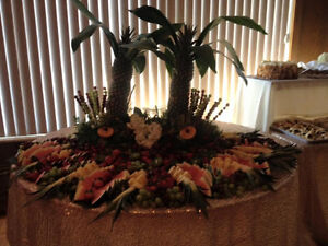 Chocolate fountain, crepes, Belgian waffles, fruit display/table Windsor Region Ontario image 3