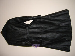 THE TOP OF QUALITY LEATHER COAT.