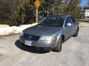 2005 Volkswagen Passat Black leather Sedan