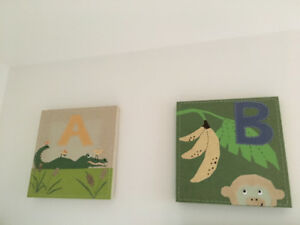 Baby room artwork