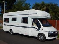 Auto Trail Dakota SE, 2005, 4 Berth Fiat 2.8 D, Fixed Bed, Centre Lounge, VGC