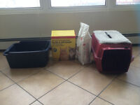 Litter box PLUS Kitty Care Pack!