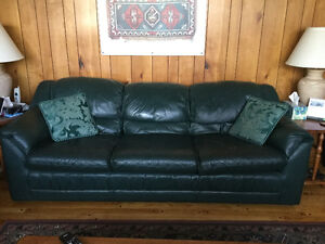 Palliser Leather Sofa and Recliner Chair