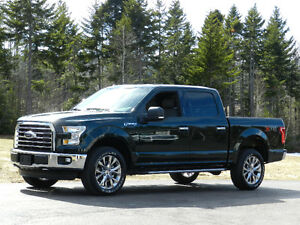 "2015 Ford F150 Crew Cab XTR with the FX4 Off Road Pkg 20"" Wheels"