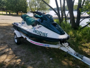 1997 sea doo gtx with trailer.