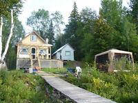 chalet a vendre Lac Édouard
