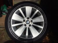 "BMW wheels / alloys 18"" for sale (7 series 5 series)"
