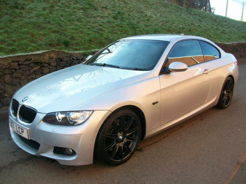 2008 08 bmw 330d m sport coupe e92 automatic sat nav massive spec silver in kidderminster. Black Bedroom Furniture Sets. Home Design Ideas