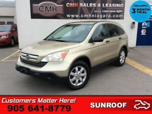 "2008 Honda CR-V EX  4WD SUNROOF 17""-ALLOYS POWER-GROUP"