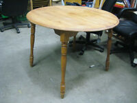 Round Dining Table & 2 Chairs