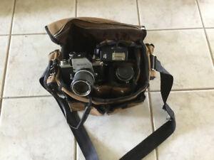 Nikon F classic professional film camera gear